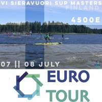Stand Up Paddle Euro Tour Stop 10 Vi Sieravuori SUP Masters Finland