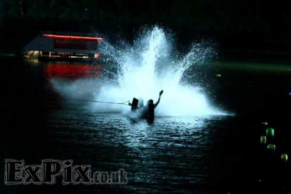 Mastercraft London Night Jump fuelled by Monster