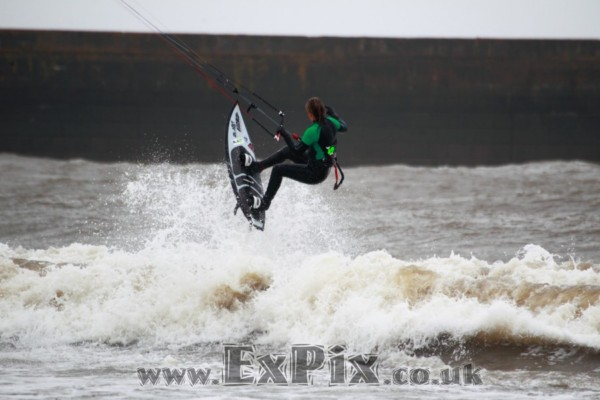 Kitesurfing in South Wales