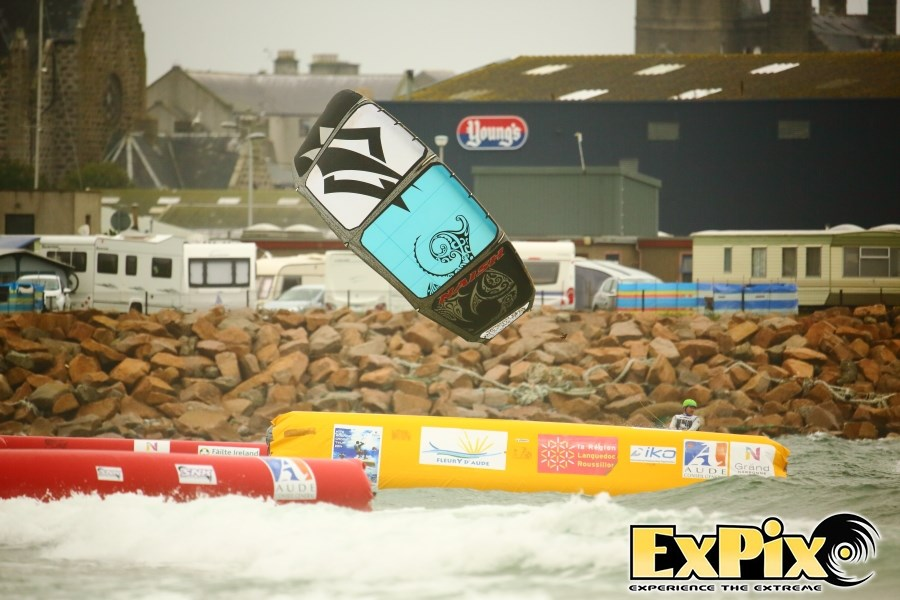 Kiteboarder Tour and Scottish WIndfrest in Fraserburgh