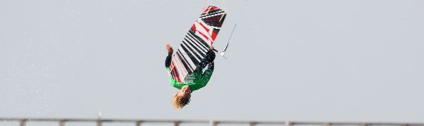 Sam light British Kitesurf Championship