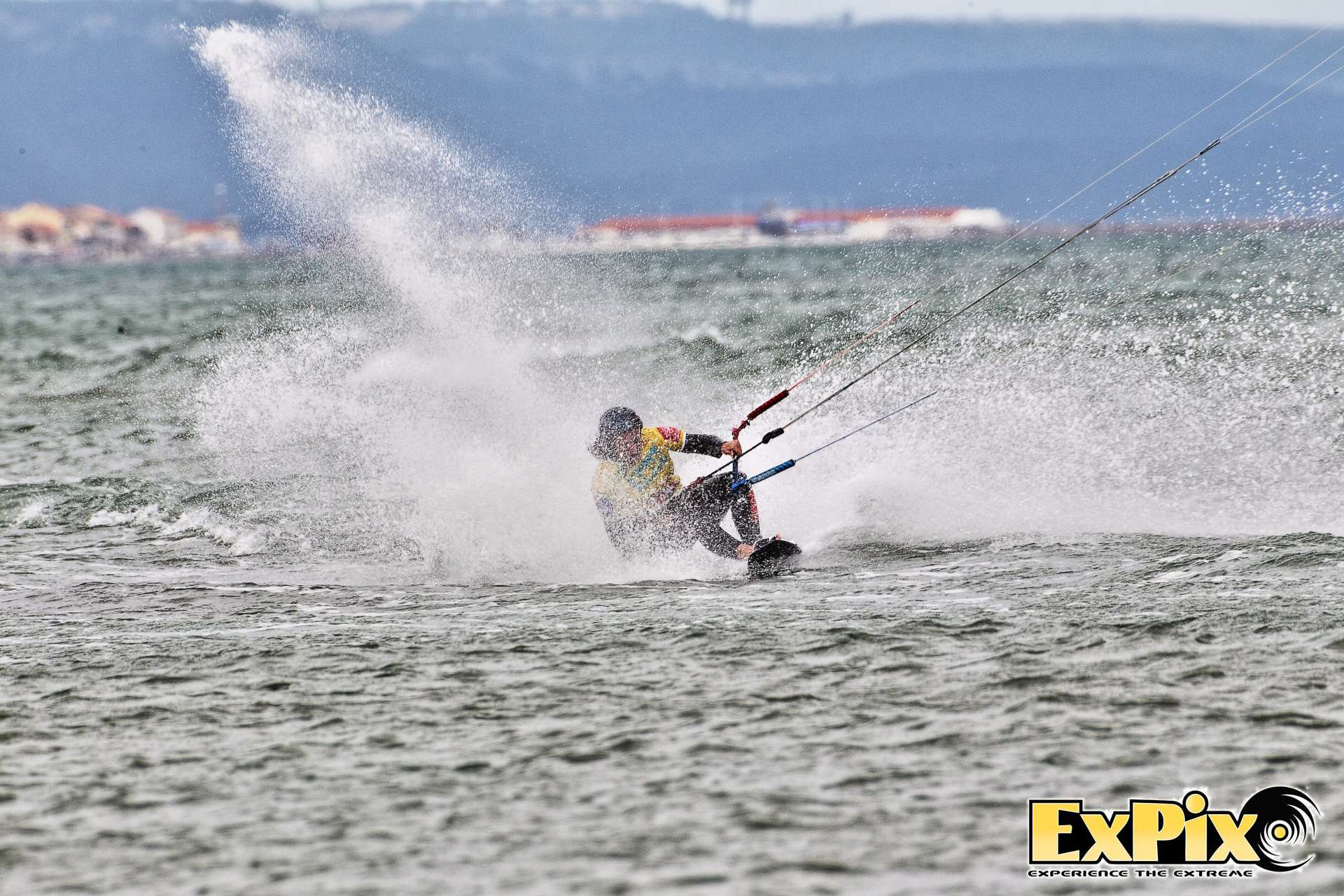 angely bouillot speed kiter hangs on